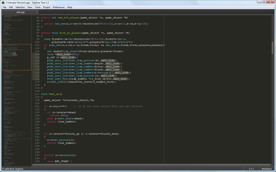 Sublime Text 2 en Fedora 16 y 17 Gnome