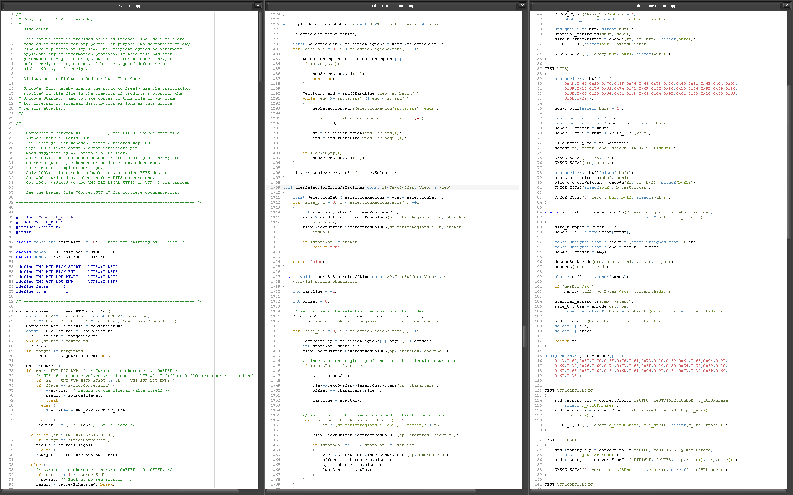 Anatomy Of A Next Generation Text Editor News Sublime Text